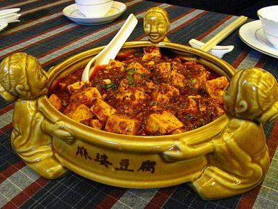 乐山美食招牌-西坝豆腐
